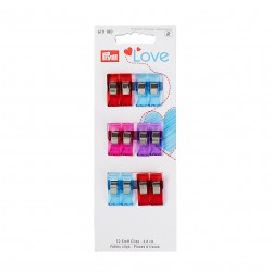 Fabric clips - 2,6 cm. - Prym Love art. 610180